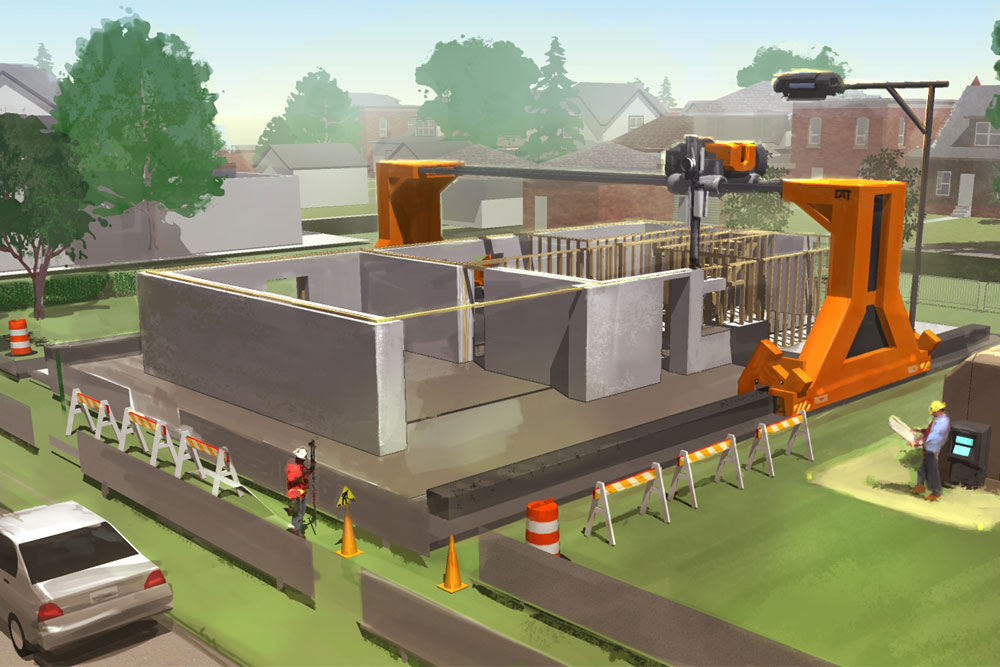 The Future of 3D Printing in Construction